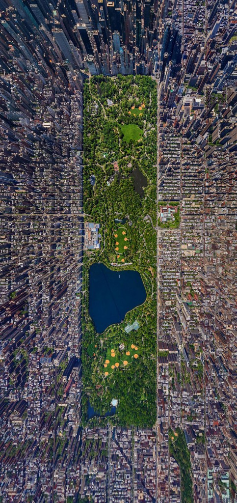 Central Park na cidade de New York